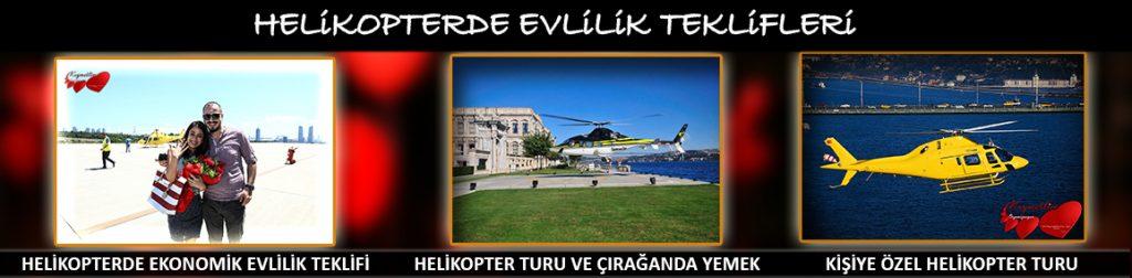 helikopterde evlilik teklifi - evlilik teklifleri - kıymetlim organizasyon