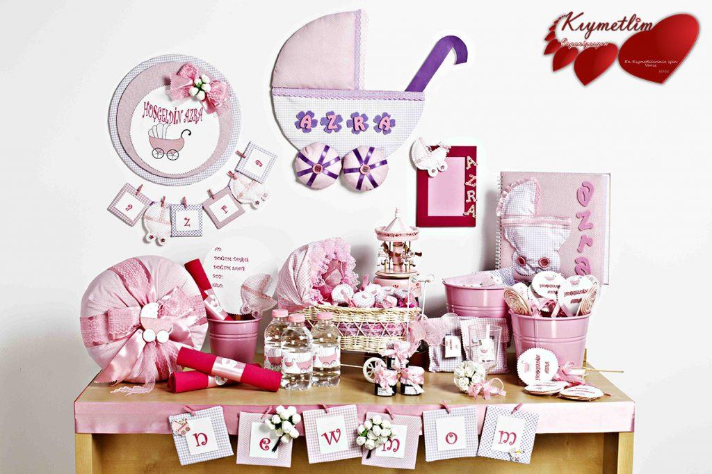 Baby Shower Anne bebek Partileri Kıymetlim Organizasyon