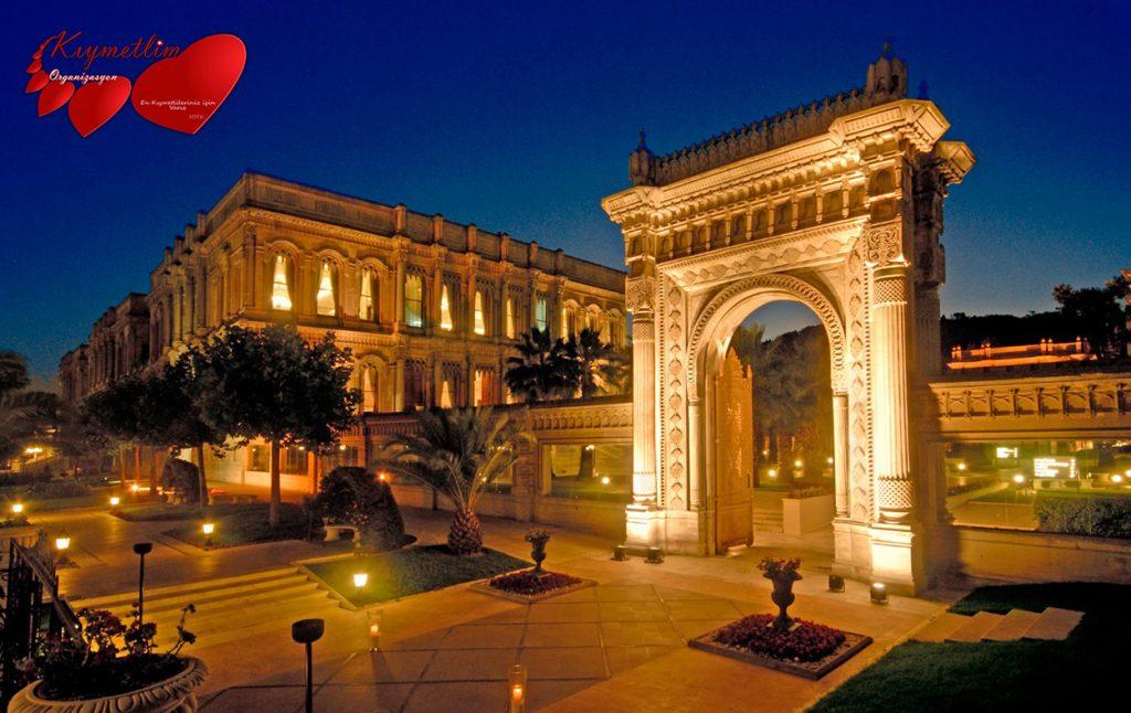 Çırağan sarayında evlilik teklifi - Sürpriz Evlilik Teklifleri - Kıymetlim Organizasyon