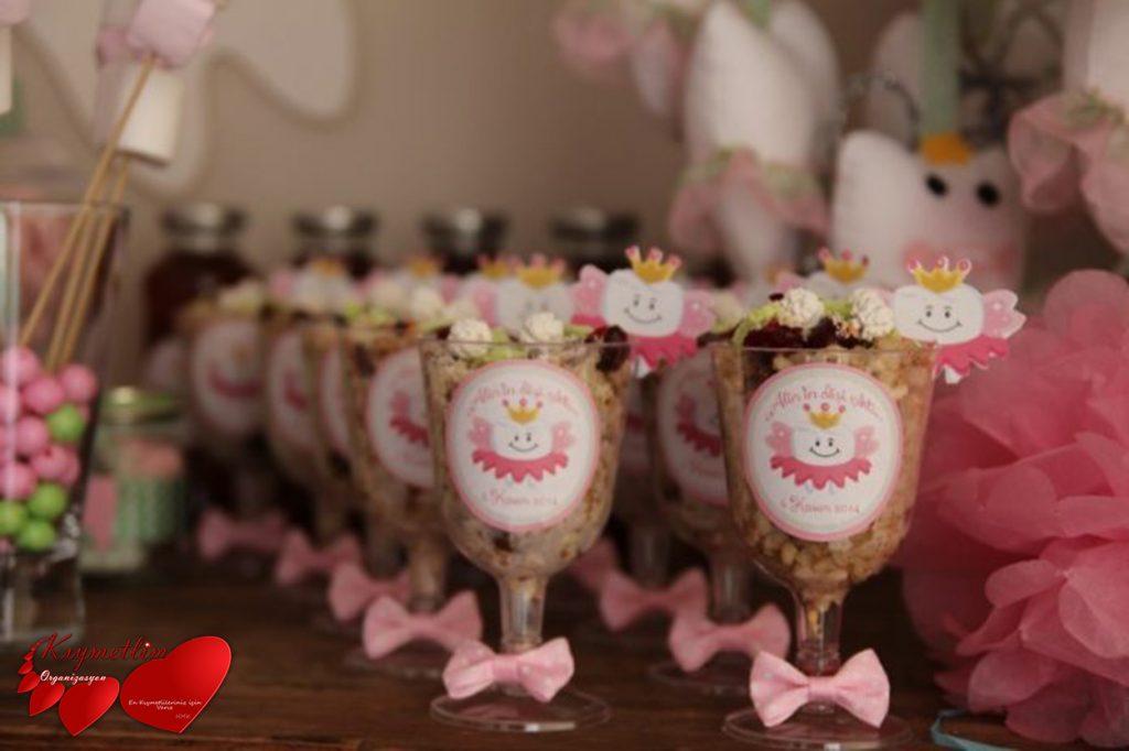 Diş Buğdayı Anne bebek parti paketleri Kıymetlim Organizasyon