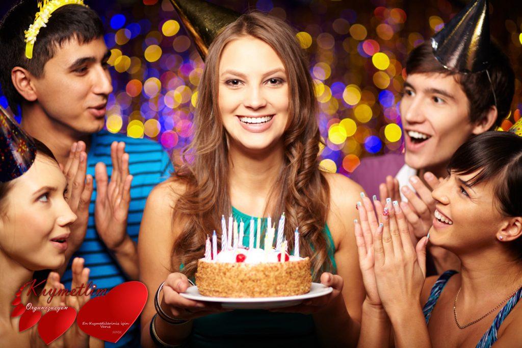 Doğum günü partisi Kıymetlim organizasyon