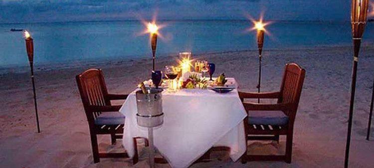 Kumsalda gece evlenme Teklifi