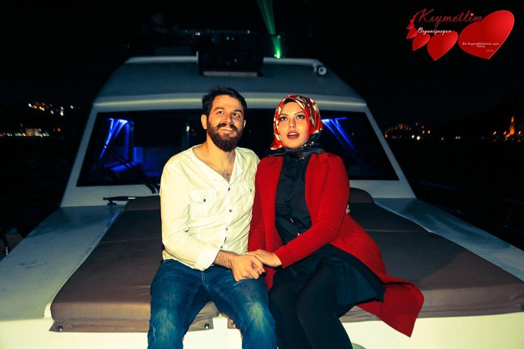 yatta lazerle evlilik teklifi - Kıymetlim Organizasyon