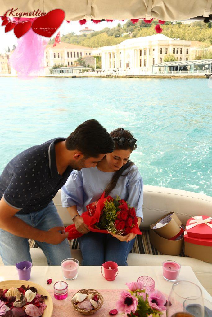 Yatta Romantik Sürprizler ile Evlilik Teklifi - KIYMETLİM ORGANİZASYON