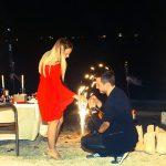 Kumsalda evlilik teklifi kıymetlim organizasyon