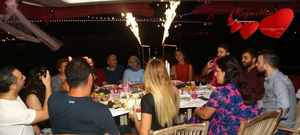 Yatta sürpriz doğum günü partisi - Kıymetlim Organizasyon