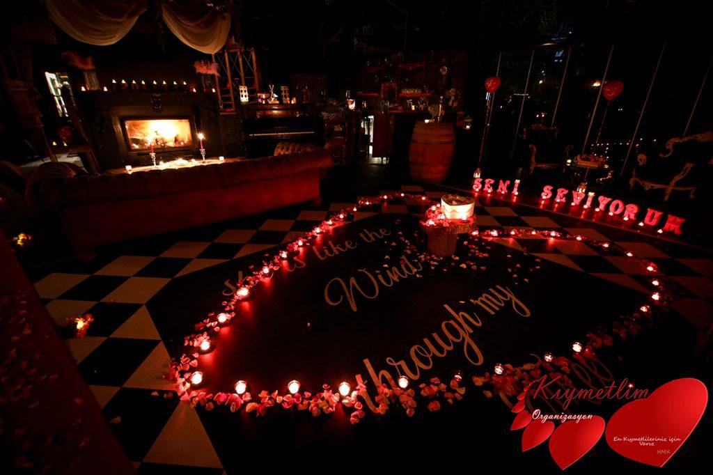 Periler Köşkü - Romantik Evlilik Teklifleri - KIYMETLİM ORGANİZASYON