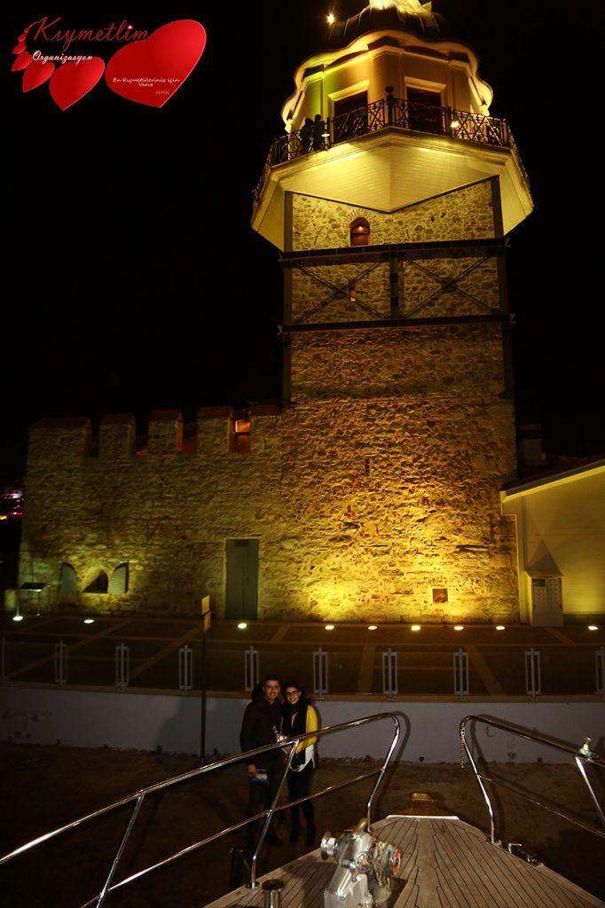 Kız Kulesi Paketleri - Kız Kulesinden Boğaa Uzanan Sihir - Kıymetlim Organizasyon