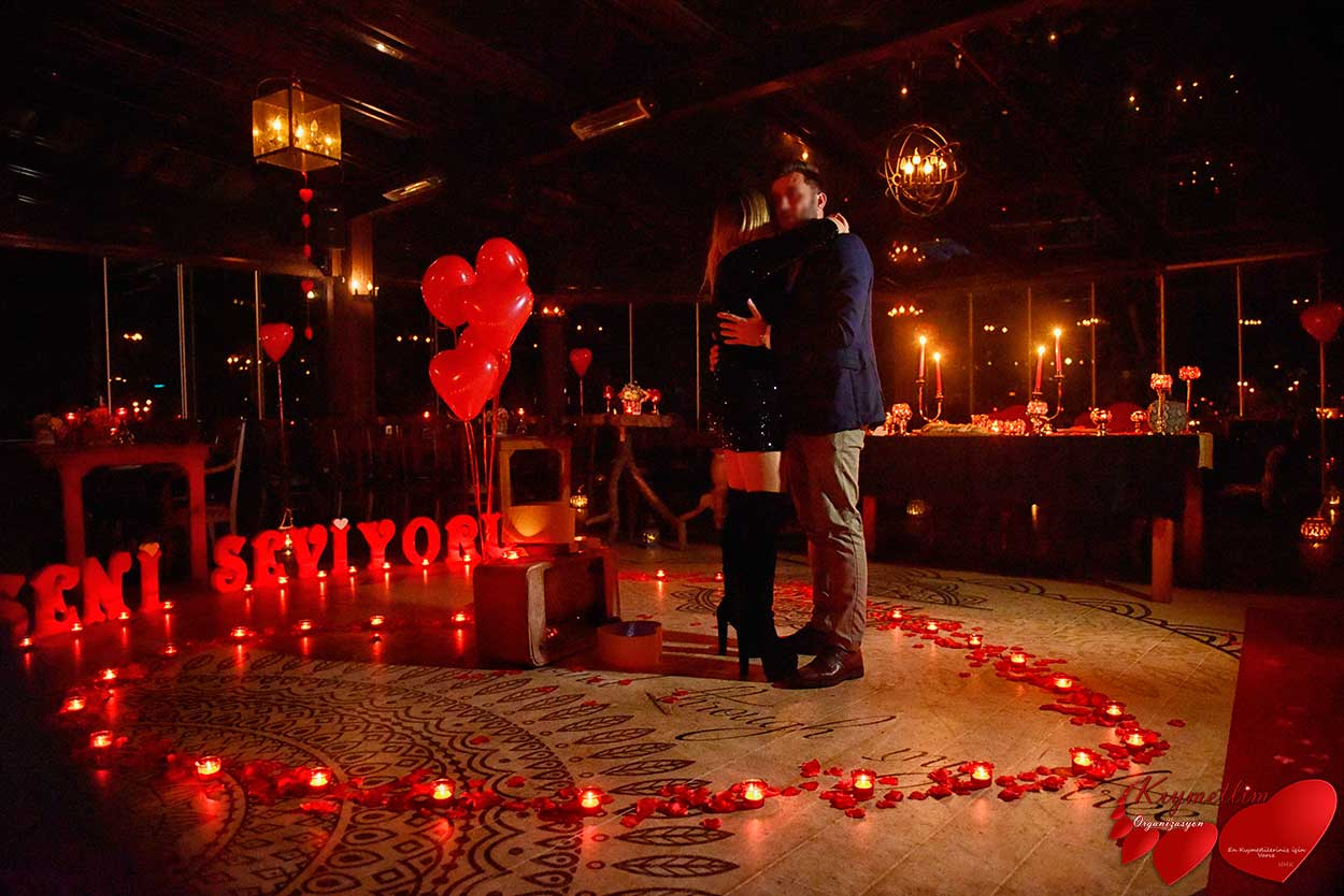 Periler Köşkü - Baş başa Romantik Evlilik Teklifi - Sürpriz Evlilik Teklifi Organizasyonları - KIYMETLİM ORGANİZASYON