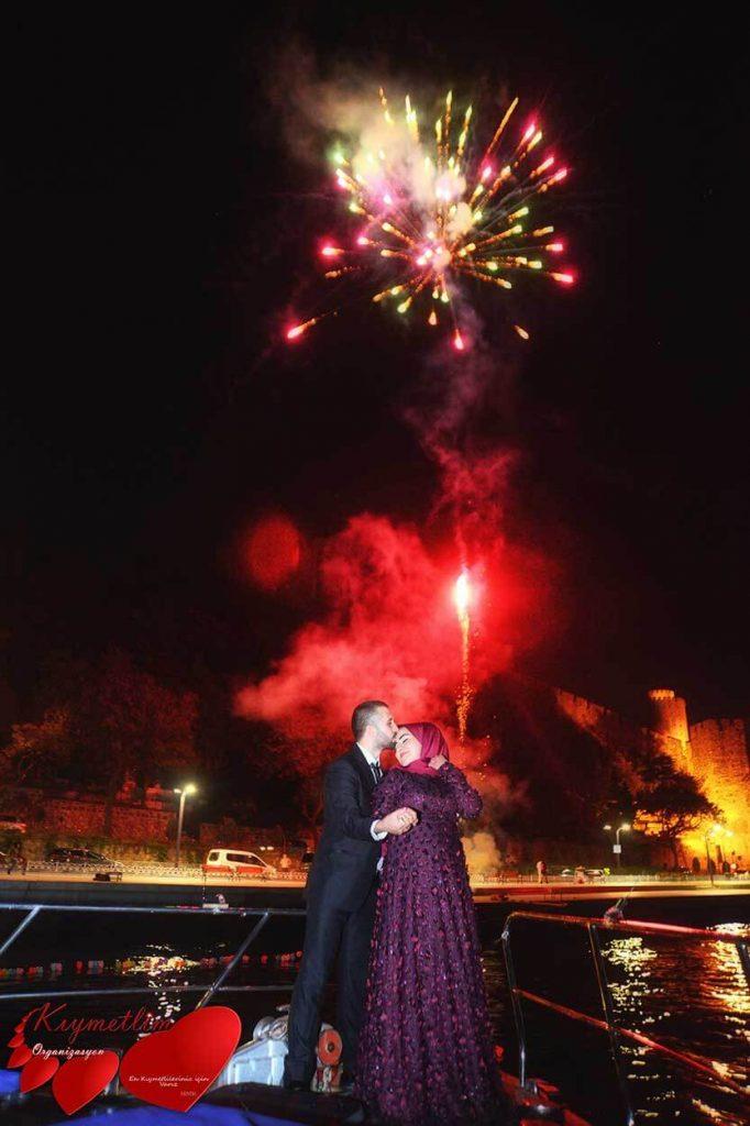 havai fişeklerle evlilik teklifi - evlilik teklifi organizasyonları - kıymetlim organizasyon