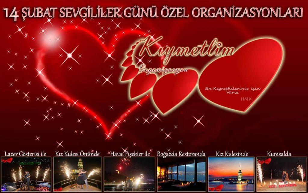 sevgililer günü organizasyonları - kıymetlim organizasyon