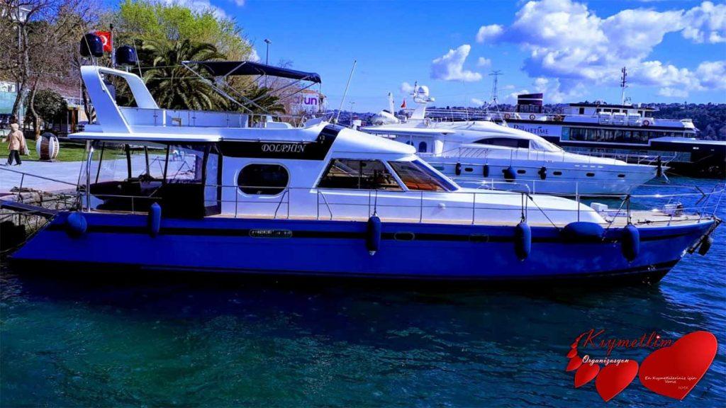 Dolphin yatı - yat kiralama - tekne kiralama - yat hizmetleri - yüzme turu - kıymetlim organizasyon