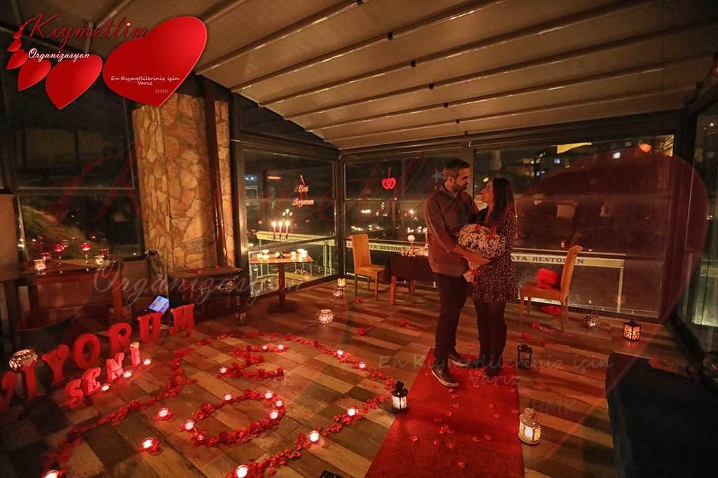 Melekler Koyu - Romantik Evlilik Teklifleri - Evlilik Teklifi Organizasyonları - KIYMETLİM ORGANİZASYON