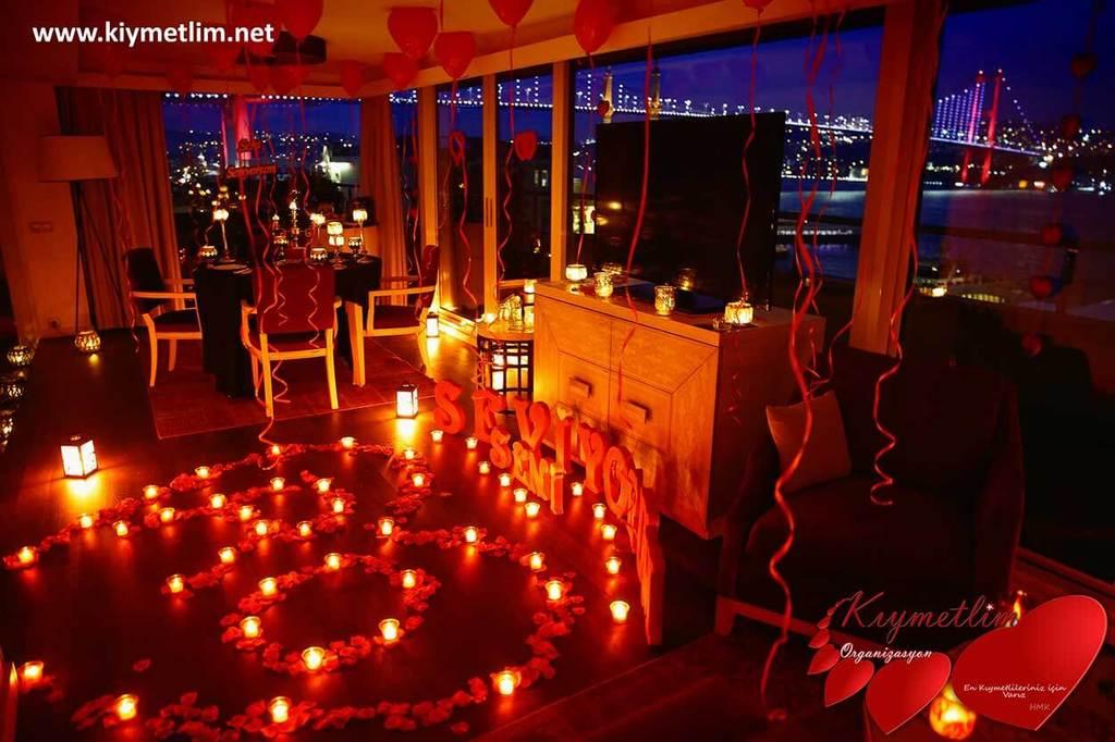 Otel Süsleme - Otelde Evlilik Teklifi - Evlilik Teklifi Organizasyonları - KIYMETLİM ORGANİZASYON