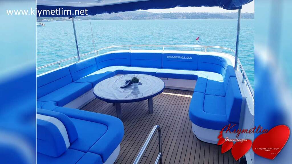 Esmeralda Yatı - Yat Kiralama - Tekne Kiralama - Yat Hizmetleri ve Yatlarımız - KIYMETLİM ORGANİZASYON